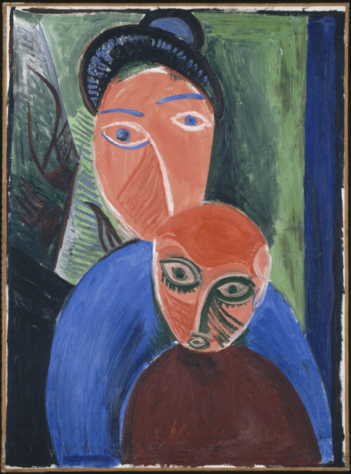 Mother and Child_ Picasso
