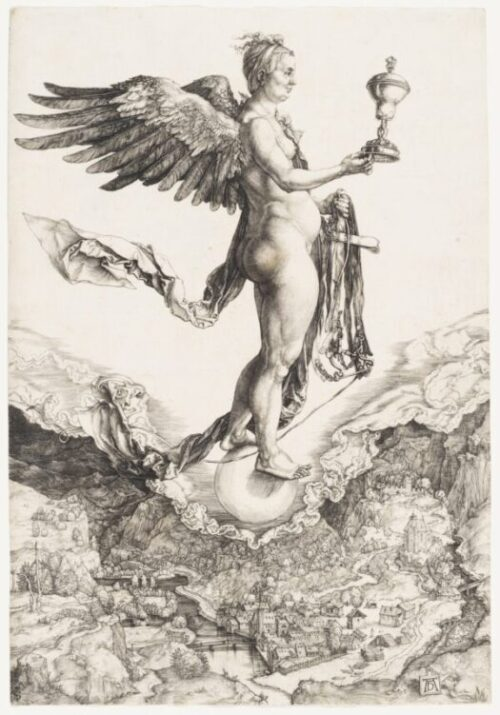 Albrecht Dürer. Nemesis (The Great Fortune)