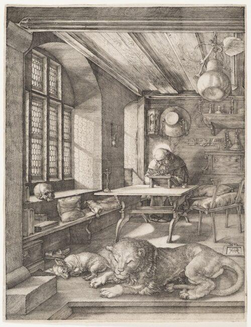 Albrecht Durer_St Jerome