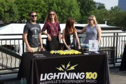 Lightning 100 sponsor table