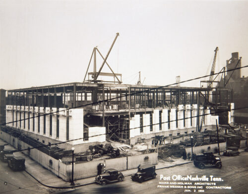 Landmark Repurosed Building Construction
